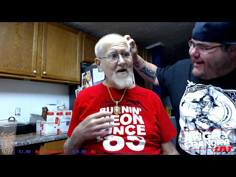 Angry Grandpa LIVE on Twitch (1st official broadcast)