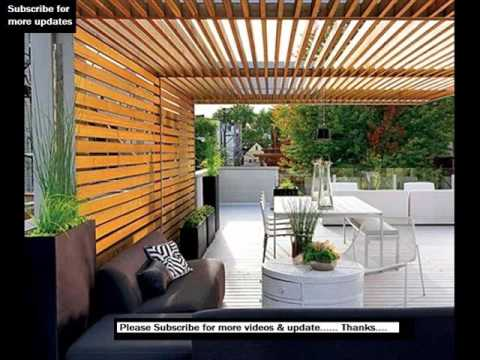 Pergola Modern | Modern Pergola Design Ideas - YouTube