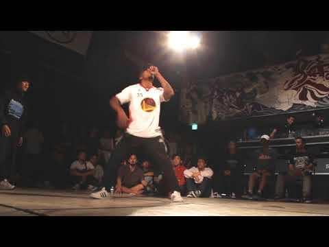 Mighty Zulu Kingz USA (Box won, Stedlove) vs Bboy Babylon and Masao. Top 8