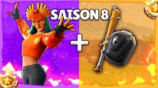 10 BEST COMBOS DE SKINS SPECIALE SAISON 8 (v12) SUR FORTNITE BATTLE ROYALE