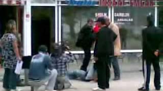 Azer Bulbul Quot Dizi Cekimi 2008 Quot Kavga Sahnesi Baro41