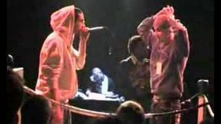 Oslim (french beatboxer) Vs Rewind La Finale du Da mouth Fight Tour 2008 Beatbox