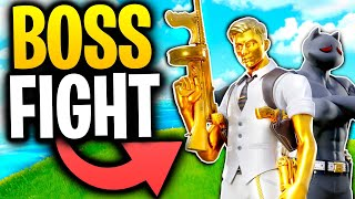 What Happens When SHADOW MEOWSCLES See's GHOST MIDAS? | Fortnite Mythbusters