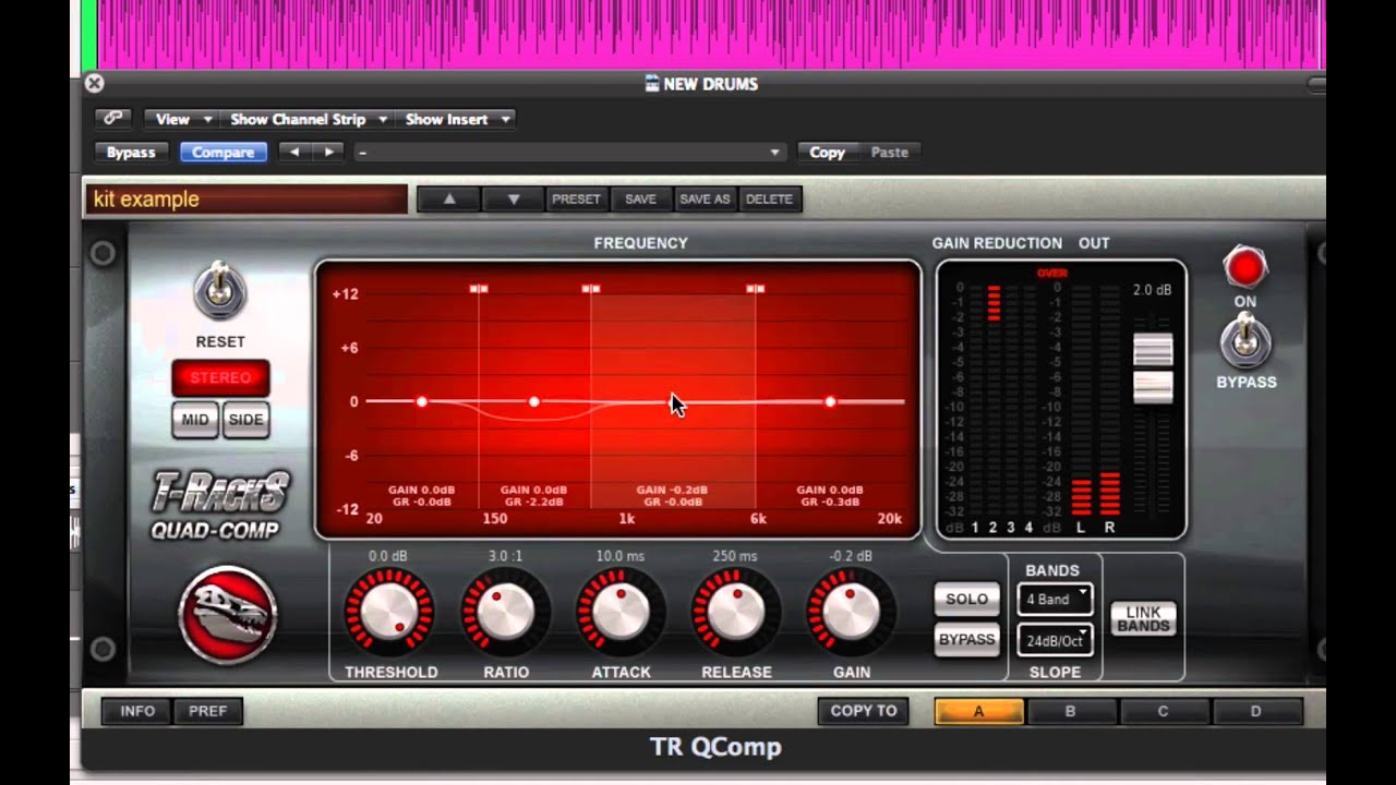 T Racks Custom Quad Comp And Lim Mixing Mastering Tutorial