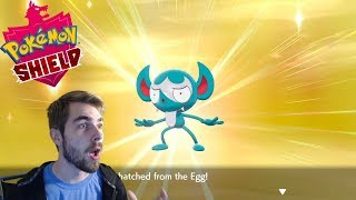 LOOKING FOR SHINY IMPIDIMP IN POKEMON SHIELD! Masuda Method Egg Hatching! 1050 Hatches