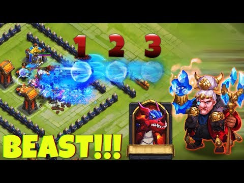 Frost Wizard NAILING   HBM   Beast   CASTLE CLASH