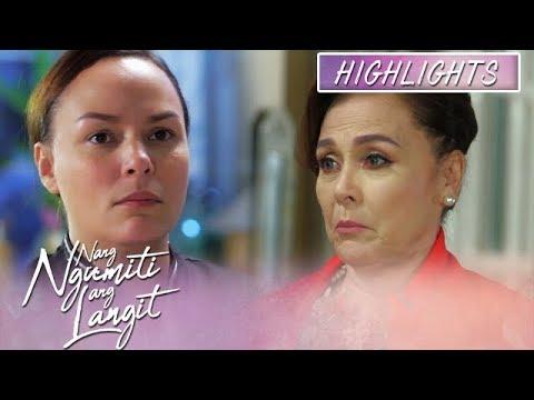Divina  promises Ruth that she will no longer hurt Mikmik   Nang Ngumiti Ang Langit