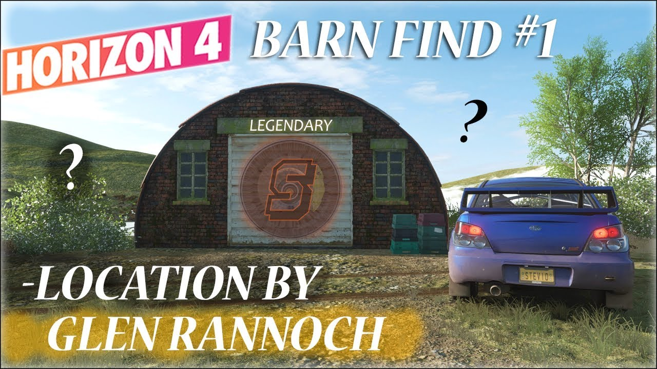 Forza Horizon 4 First Barn Find Location Guide Forza Horizon 4