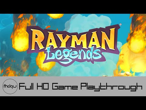 Rayman Legends - Full Game Playthrough (No Commentary)