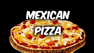 """MAKING MEXICAN PIZZA'S...."