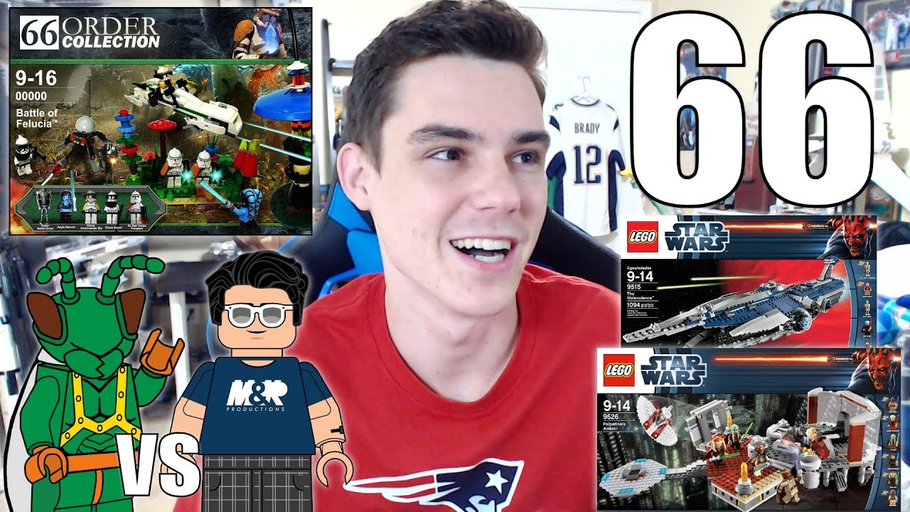 Lego Star Wars Order 66 Sets Just2good S Lego Collection My Lego Moc Ask Mandrproductions 66 Youtube
