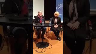 Сергей Урсуляк, творческая встреча с Верой Таривердиевой в культурном центре на Никитской, 2018 год!