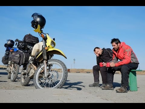Kazakhstan Motorcycle Adventure on Suzuki DR650 - Part II [EN SUB]