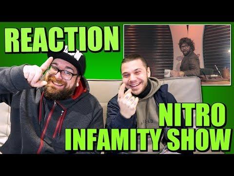 REAZIONE | Nitro - Infamity Show (Prod. by Salmo) | ARCADE BOYZ