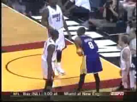 December 25 2005 Espn Game 28 Miami Heat Vs Los Angeles Lakers Win 16 12 Sportscenter Youtube
