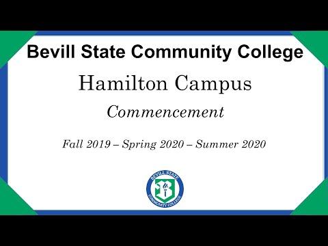 Bevill State Community College Virtual Graduation - Hamilton Campus