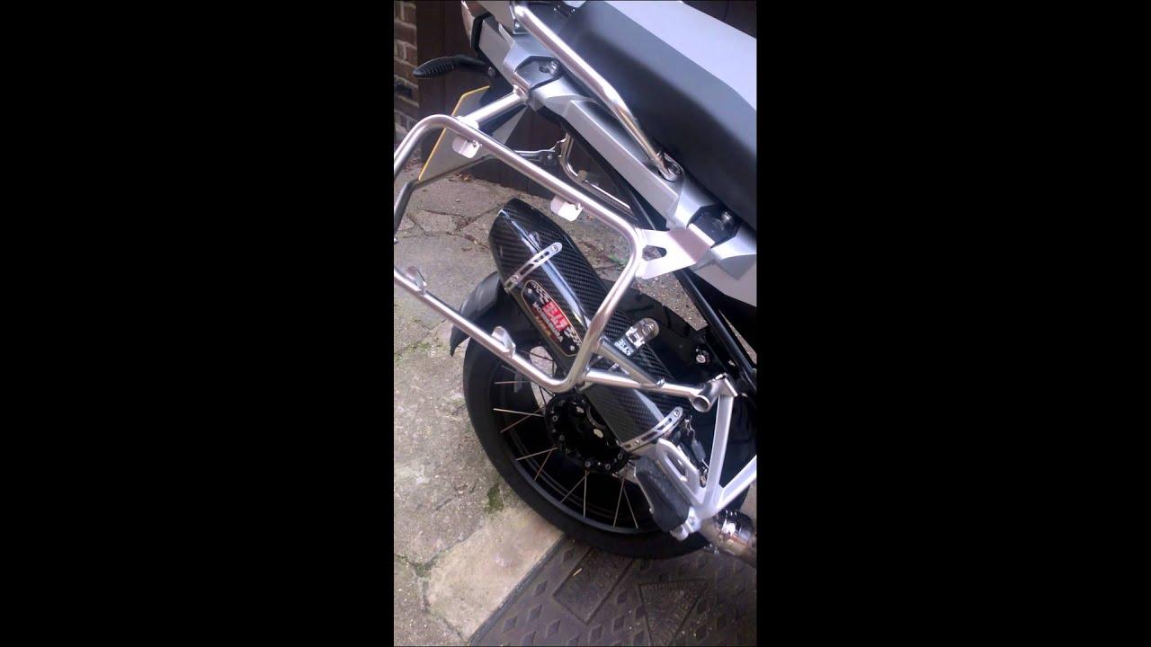 d985588248ff Yoshimura R 77 Carbon Slip On Exhaust BMW R1200GS Adventure 2014 ...