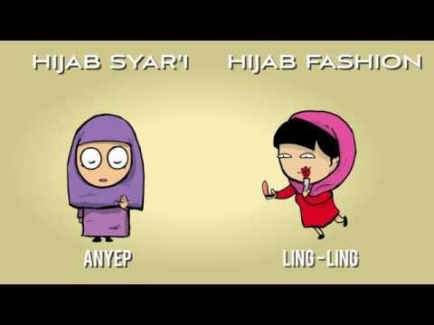 ✓ Terbaru Gambar Kartun Hijab Gaul