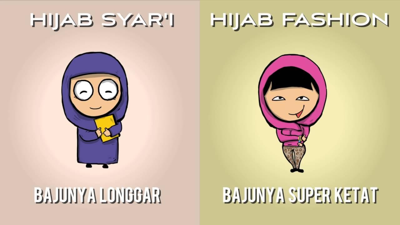 Perbedaan Geng Hijab Syar I & Geng Hijab Fashion