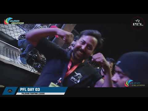 Anchor Jayesh Sahu Hosting Day 3 Of PFL Live | Palghar Fighting League | India's Biggest MMA Event
