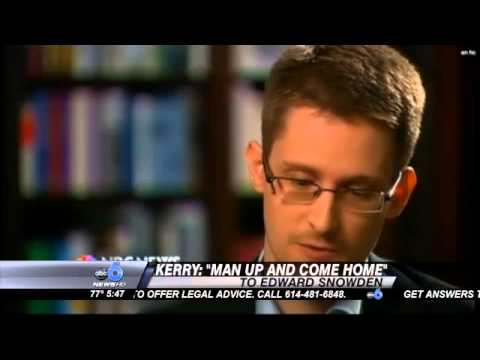 Edward Snowden Says He Was Trained to be a Spy
