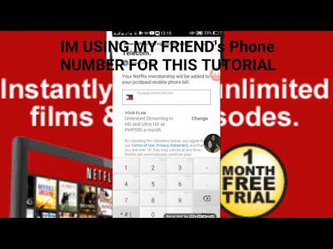 HOW TO MAKE NETFLIX ACCOUNT FOR  1 MONTH FREE TRIAL 2018