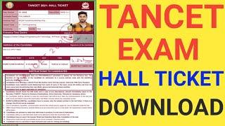 TANCET EXAM HALL TICKET DOWNLOAD ONLINE IN TAMIL   HOW TO GET TANCET EXAM HALL TICKET 2021