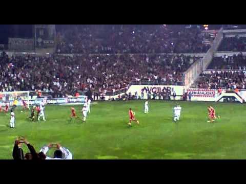 Beşiktaş - M.İ.Y  | Almeida penaltı, Tribünden çekim