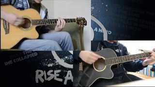 Rise Against - Behind Closed Doors (double cover) with my bro