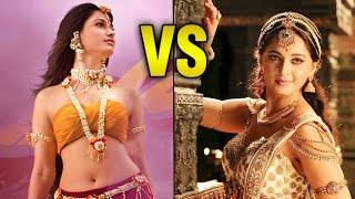 Tamannaah vs anushka shetty | who is the real baahubali queen? | bollywood buzz