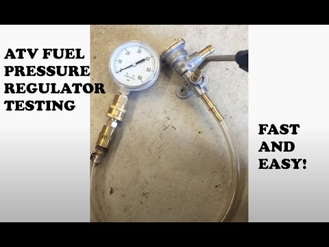 Suzuki Ltr450 FPR fuel pressure regulator testing