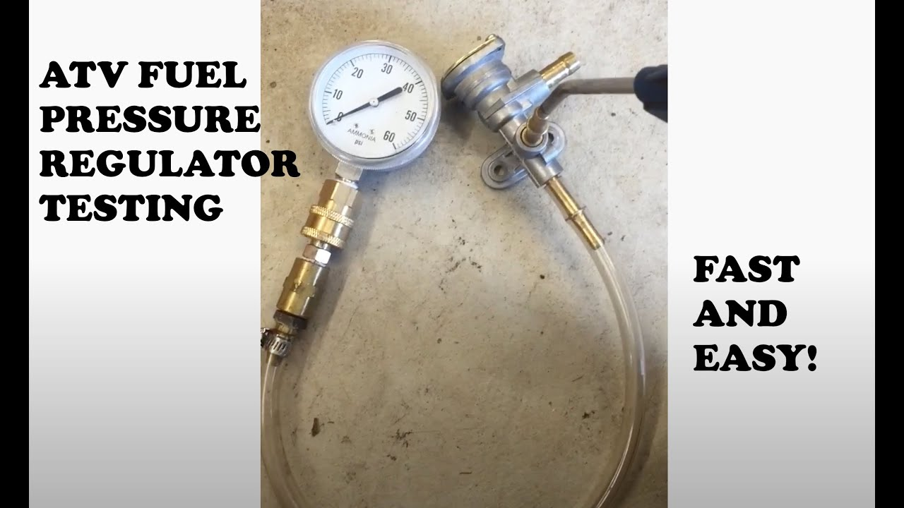 Suzuki ltr450 fpr fuel pressure regulator testing youtube for What is fpr rating