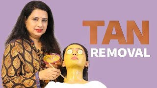 Find easy steps to learn how to Remove Tan