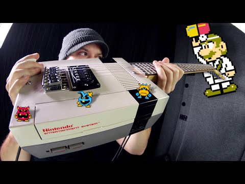 Dr. Mario On A NINTENDO Guitar!