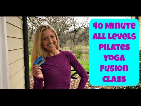 40 Minute All Level Pilates Therapy Flow Class. Live Wellness Workshop With Caroline Jordan Fitness.