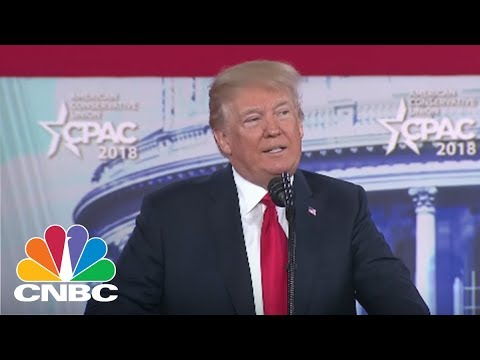 President Donald Trump Delivers Remarks At CPAC - Friday Feb. 23, 2018 | CNBC