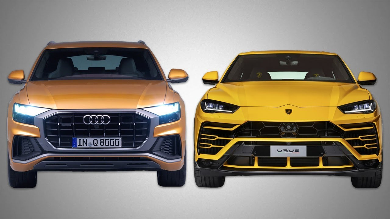 2019 Audi Q8 V 2019 Lamborghini Urus Design Youtube