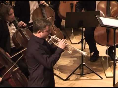 слушать концерт для трубы с оркестром
