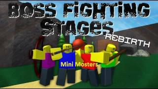 Mini Moster - Boss Fighting Stages Music/Soundtracks [Roblox BFS Music/Soundtrack]