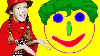 Сделай веселое лицо! Известная песенка Can You Make a Happy Face на русском языке