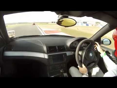 BMW E46 M3 at Bedford Autodrome Track Day
