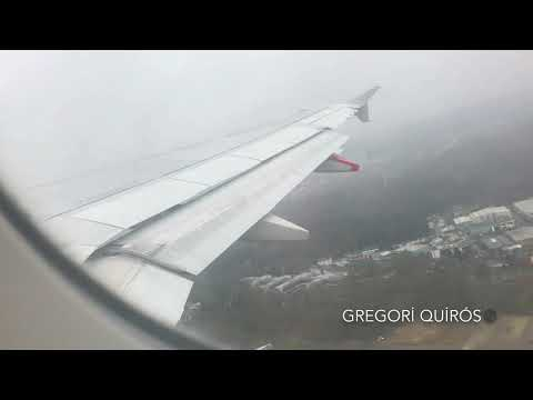 TAP Air Portugal Airbus A319-111 take off from Luxembourg-Findel airport (Luxembourg)