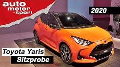 Toyota Yaris (2020): Bleibt sich der kleine Hybrid treu? - Review/Sitzprobe | auto motor und sport