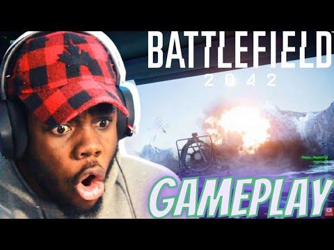 Battlefield 2042 Official Gameplay Trailer REACTION!!!