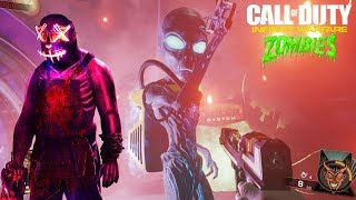 CALL OF DUTY: INFINITE WARFARE ZOMBIES | RAVE IN THE REDWOODS Y ZOMBIES EN SPACELAND EASTER EGGS