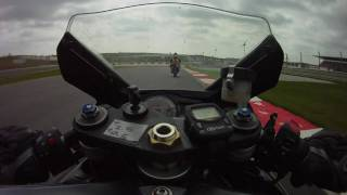 a lap of portimao with a zx 9r and a gsx r750