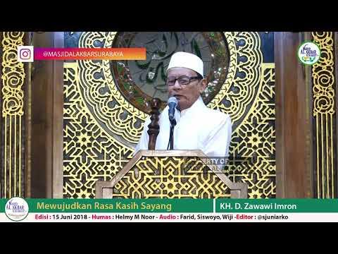 KHUTBAH IDUL FITRI 2018, 1SYAWAL 1439H DI MASJID NASIONAL AL-AKBAR SURABAYA (KH. D. Zawawi Imron)