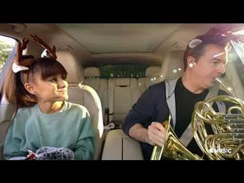 Apple Music's Carpool Karaoke 2017 Grammy's Commercial - Focus by Ariana Grande