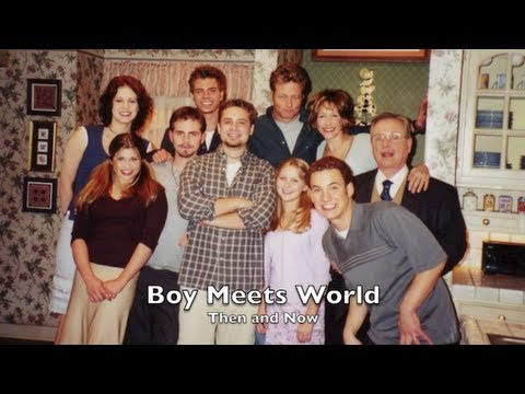 Boy Meets World!! Then and Now!! Boy Meets World  Then and Now!