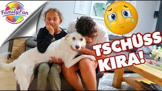 ABSCHIED NEHMEN von KIRA - Unser HUND MUSS WEG - Family Fun